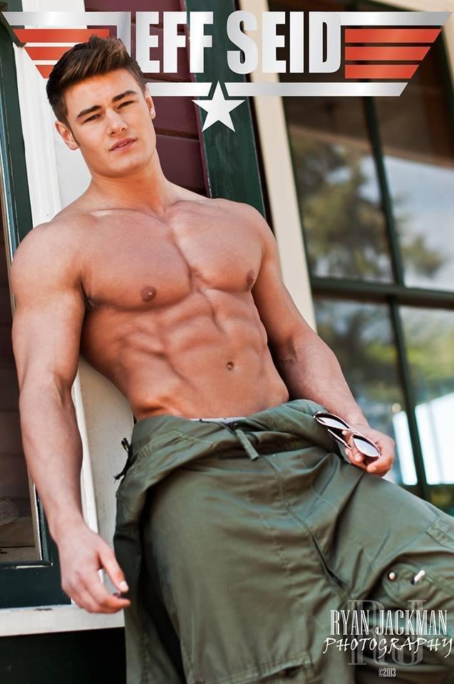 世界顶尖健美模特Jeff Seid