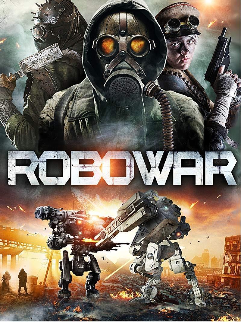 战斗机器人海报