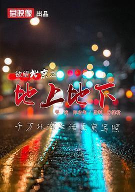 欲望北京之地上地下海报