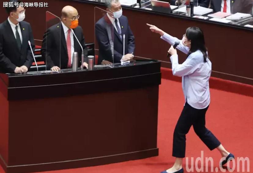 為鄭麗文討公道藍黨團促蘇貞昌道歉、下台