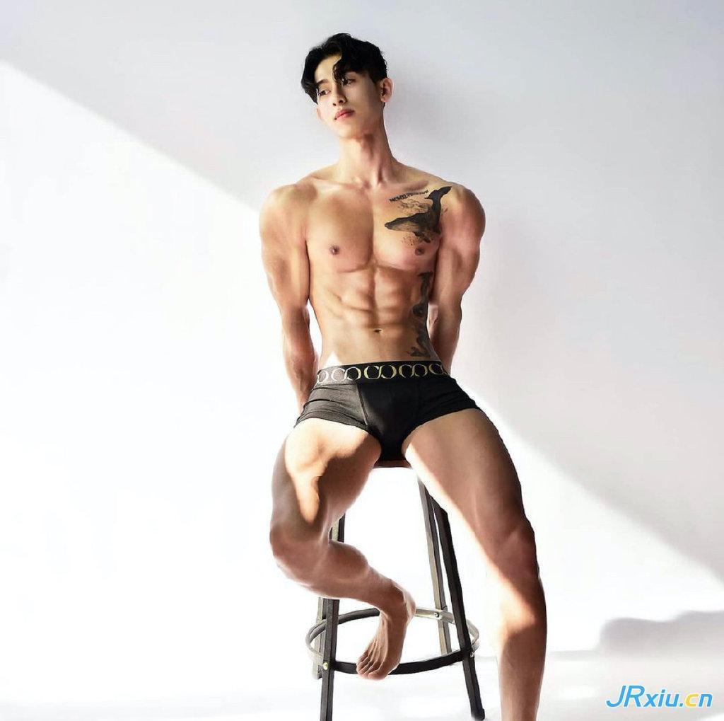 亚洲健身男模写真 韩国健身运动员肌肉帅哥