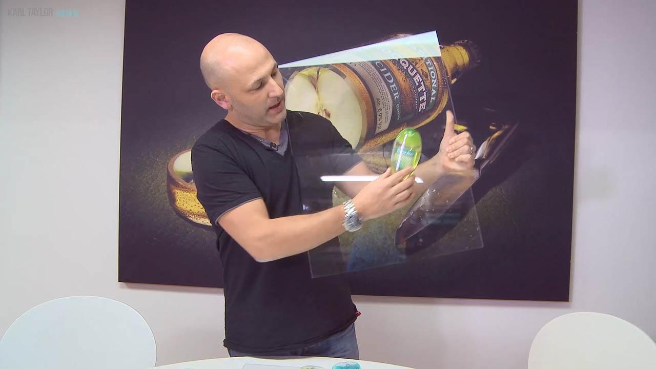 Perfect product tank shots - Karl Taylor