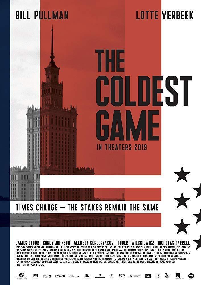 冷战游戏海报