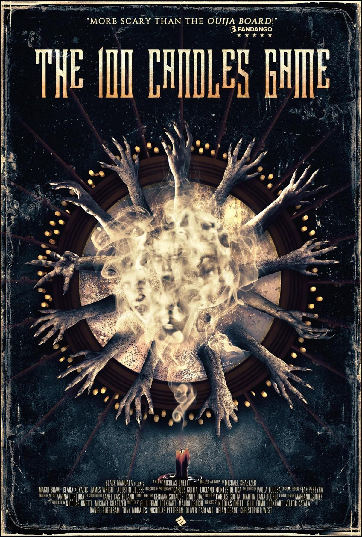 百烛游戏海报