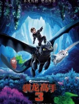 驯龙高手3 电影海报