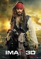 加勒比海盗4:惊涛怪浪海报