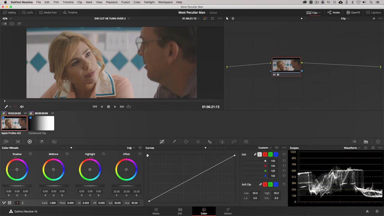 达芬奇视频调色高级教程 Professional Color Grading Techniques In Davinci Resolve