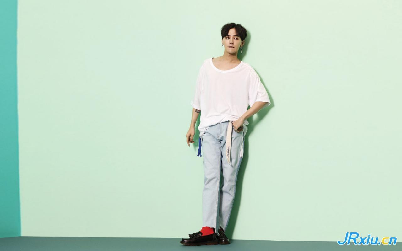 韩国人气偶像帅哥权志龙可爱写真图片