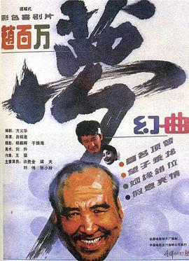 赵百万梦幻曲海报