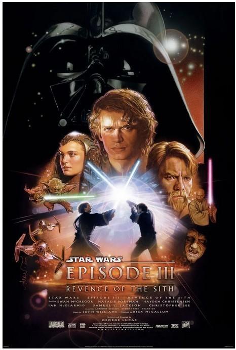 星球大战前传3:西斯的复仇 电影海报