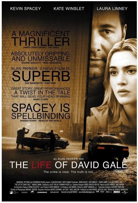大卫·戈尔的一生 电影海报