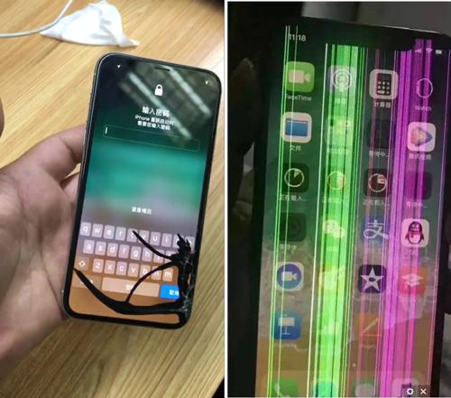 iphonex内屏坏了,iphonex换内屏多少钱