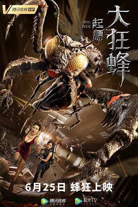 大狂蜂:起源海报
