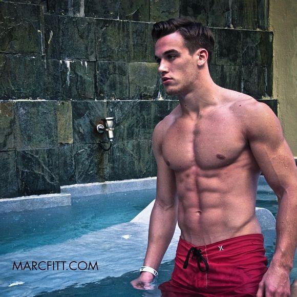 加拿大健身男模肌肉帅哥Marc Fitt