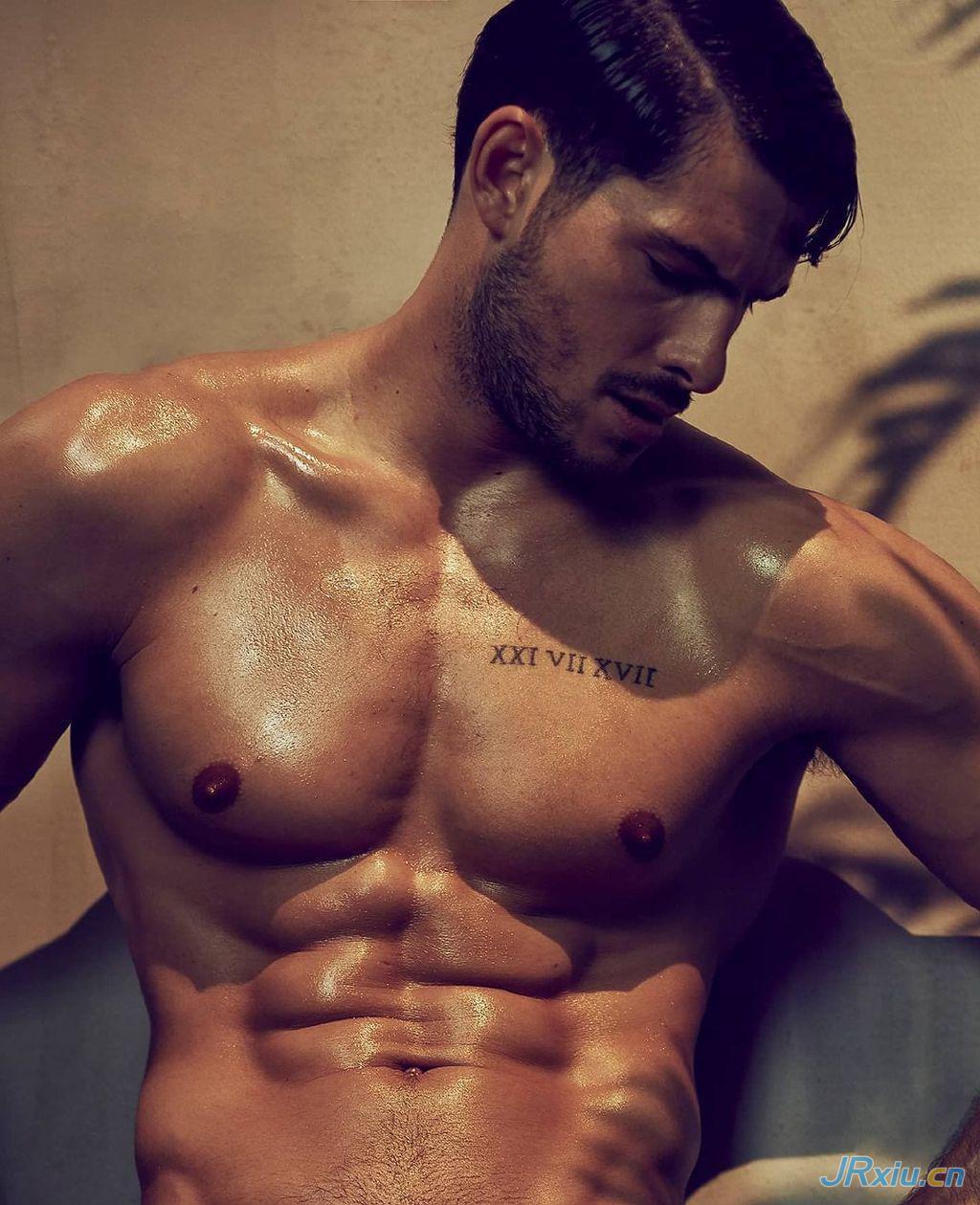 法国天才帅哥肌肉男模Adrien France