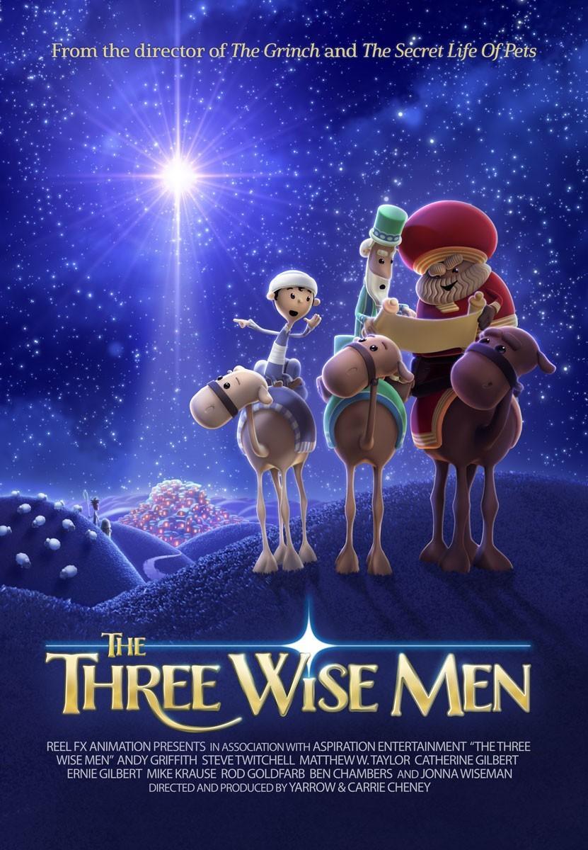 三个智者海报