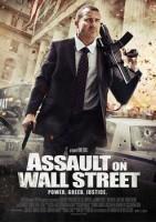 入侵华尔街海报