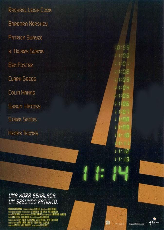 11:14 电影海报