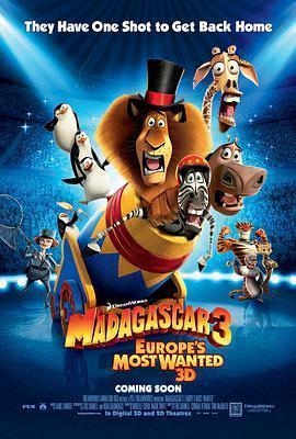 马达加斯加3海报
