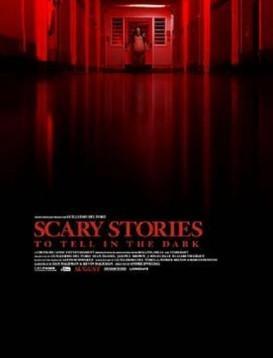 在黑暗中讲述的恐怖故事海报