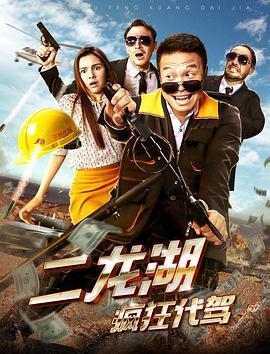 二龙湖疯狂代驾海报
