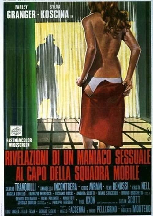 一个性欲狂的自白海报