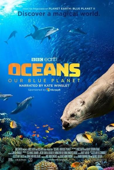 海洋:我们的蓝色星球海报