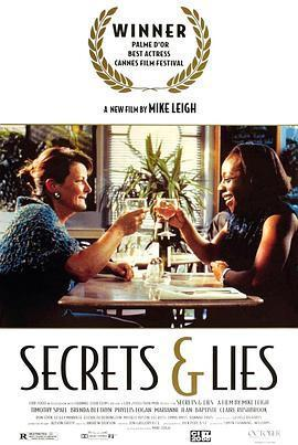 秘密与谎言 电影海报