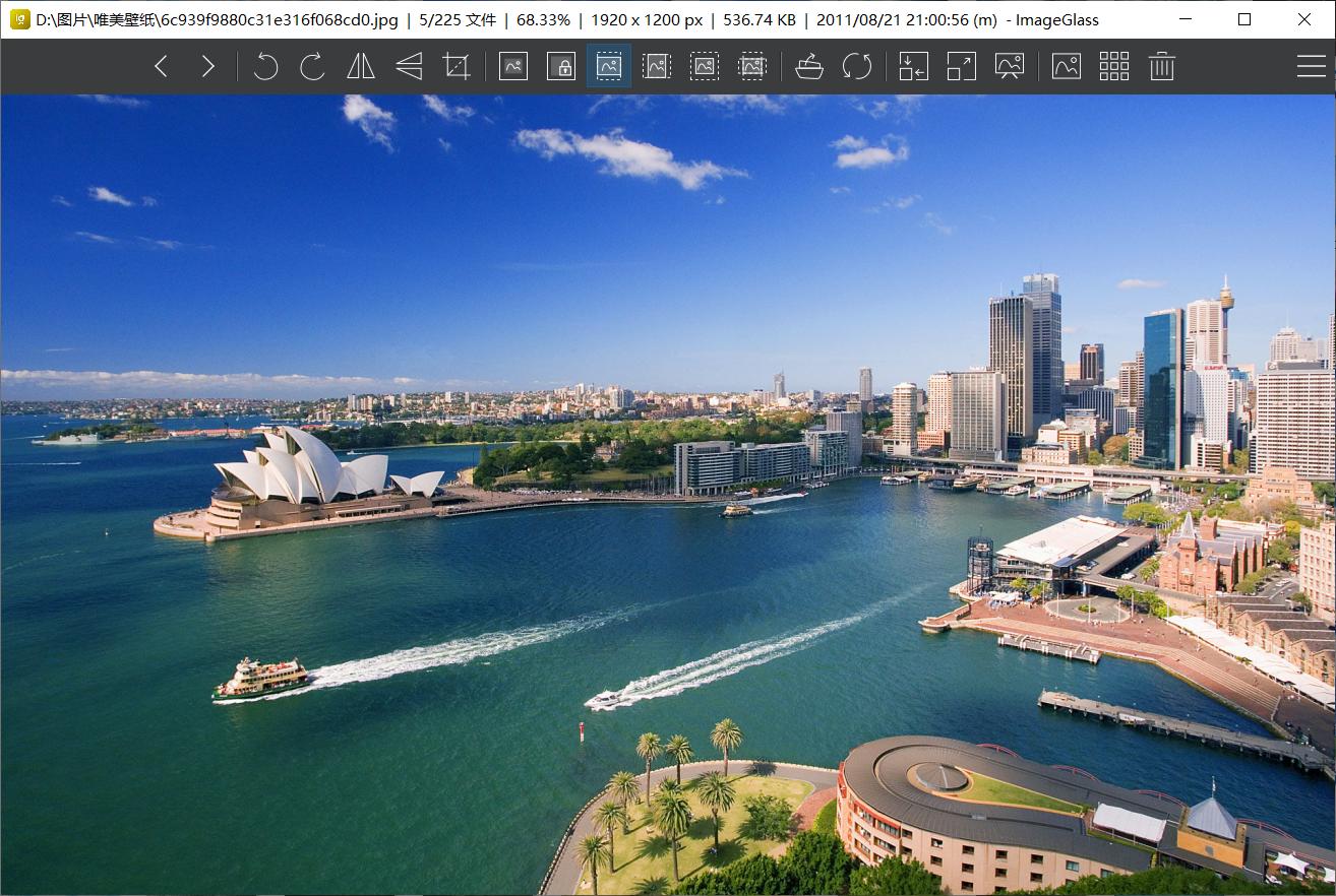 开源免费的看图软件  Imageglass