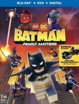 乐高DC蝙蝠侠:家族事务海报