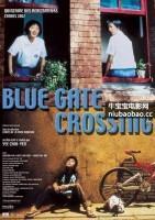 蓝色大门海报