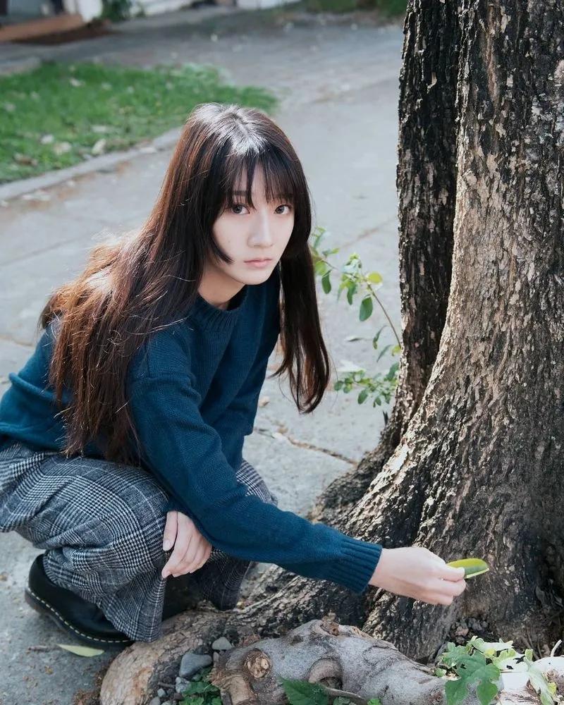 可纯可欲森林系女神小姐姐阿蓁
