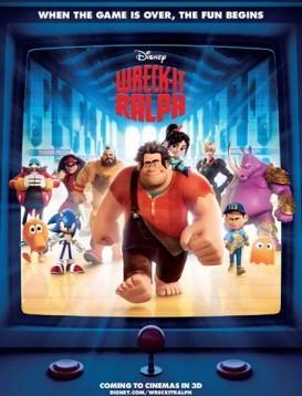 无敌破坏王 Wreck-It Ralph 电影海报