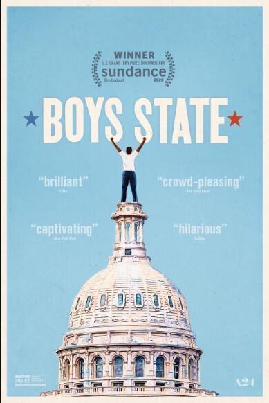 少年邦/男孩之州/新世代公民海报