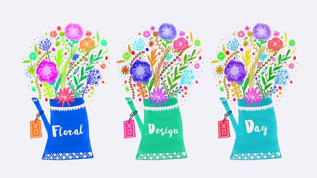 365 Days Of Creativity - Month 2 - Photoshop Illustrator InDesign Procreate