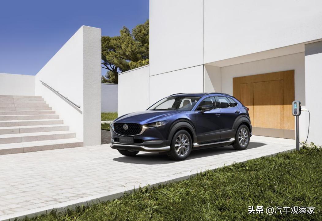 创驰蓝天技术开始触电 长安马自达 CX-30 EV补贴后售15.98万起