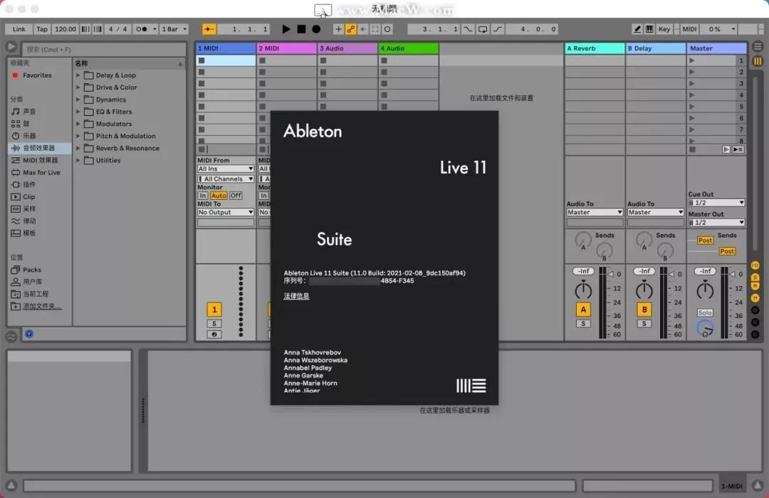 6134b0fb44eaada739bf4c51 音乐制作—Ableton Live Suite 11破解版