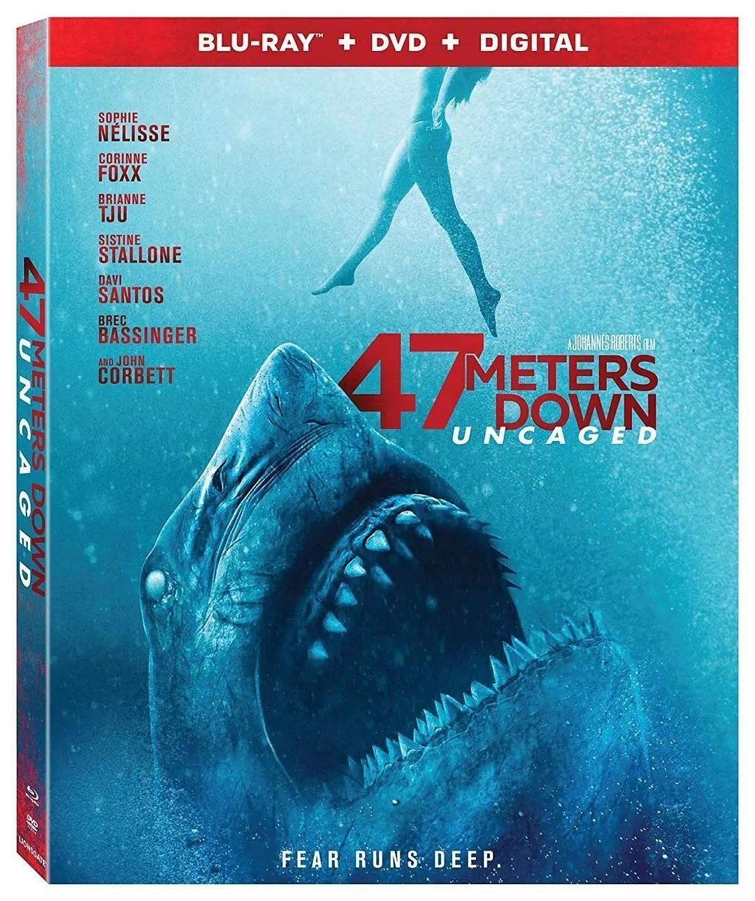 鲨海47:猛鲨出笼海报