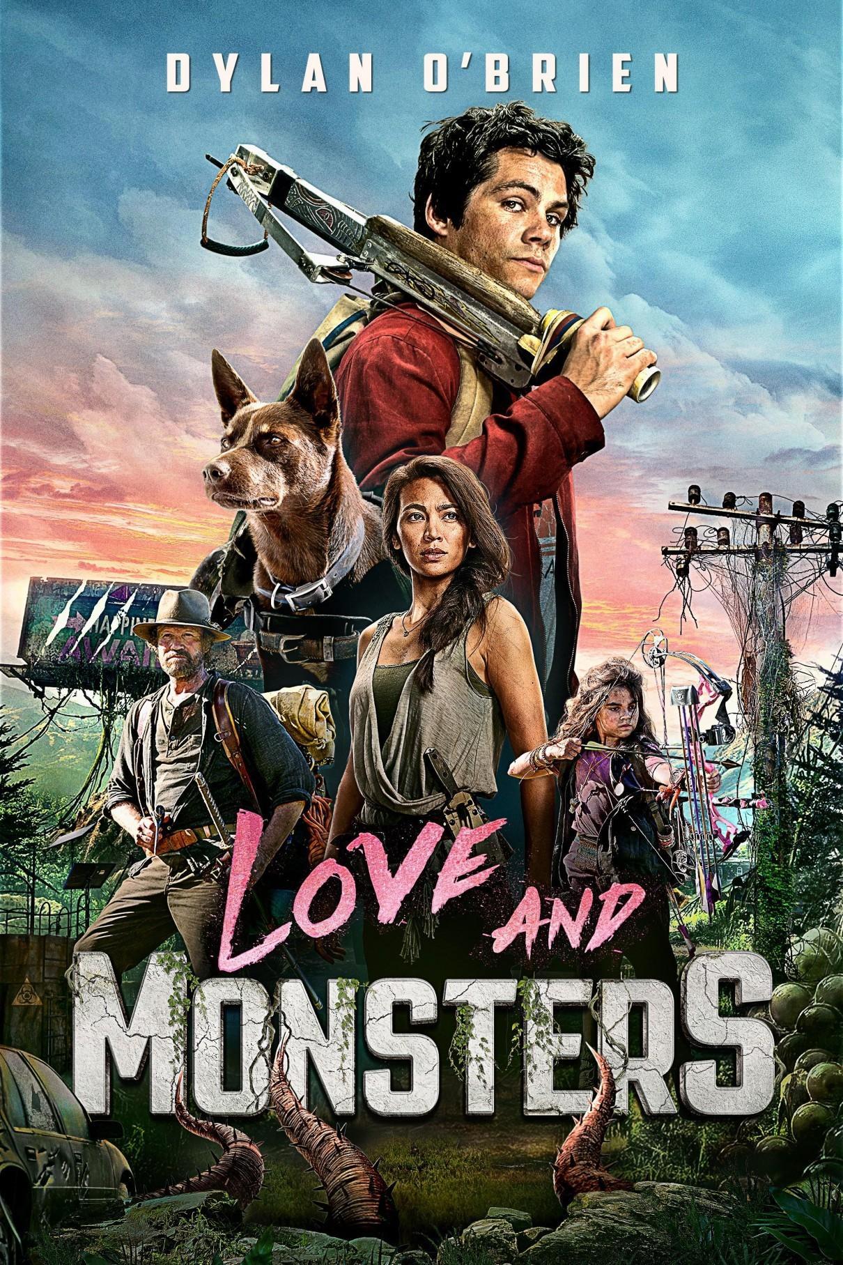 爱与怪物海报