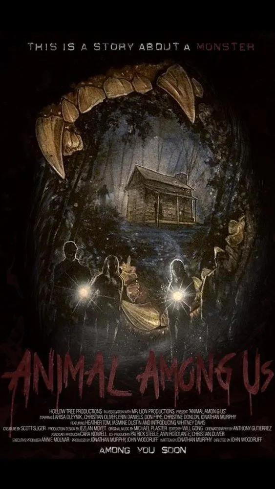 我们中间的动物海报