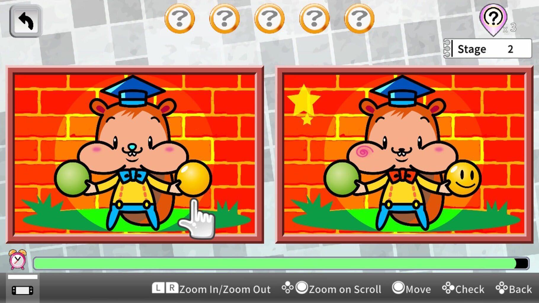 拼图找茬(Osyaberi! Puzzle Chigatan)插图2