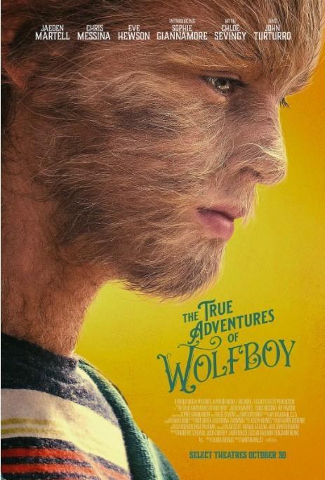 狼孩的真实冒险海报