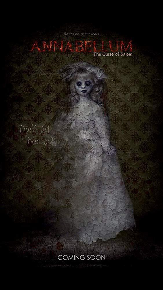 安娜贝勒姆:塞勒姆的诅咒海报