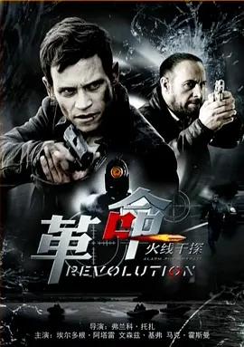 火线干探之革命海报