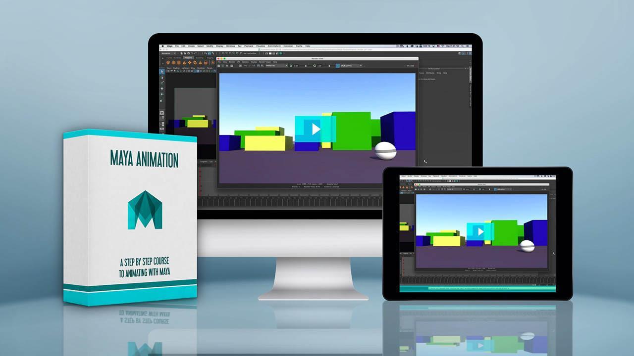 Bloop Animation Maya Animation Course – Maya三维动画教程