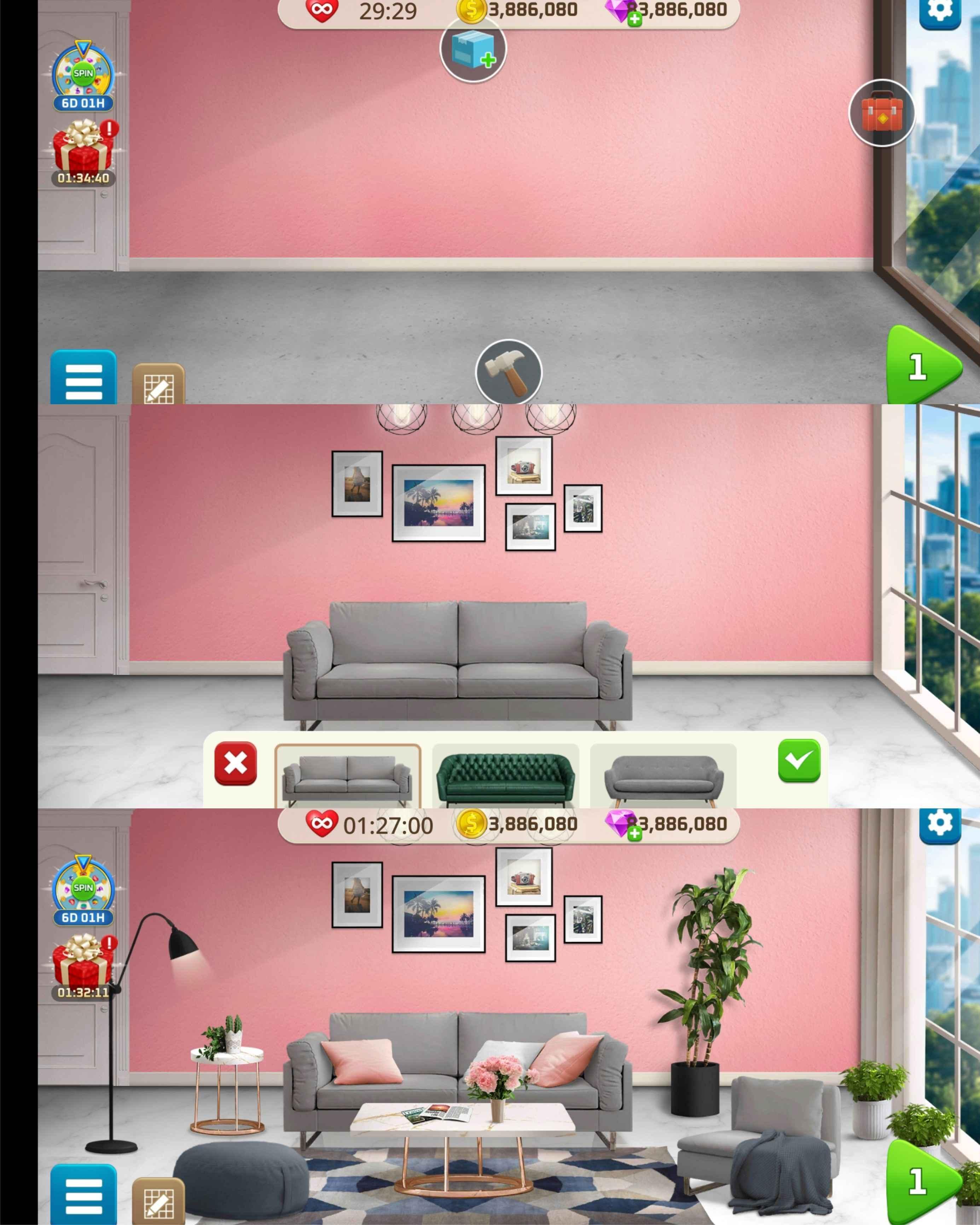 我的家居设计:现代城市优化版截图1