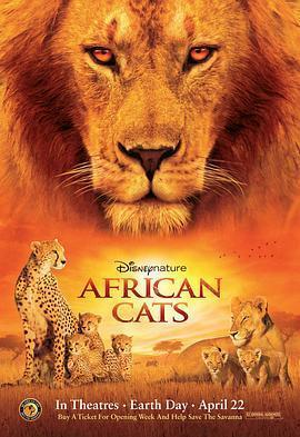 非洲猫科 电影海报