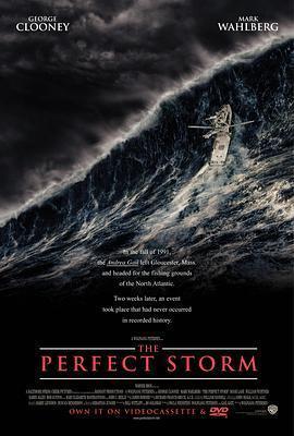 完美风暴海报