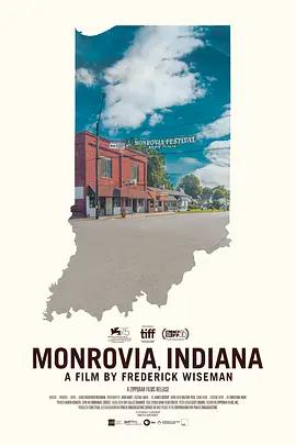 印第安纳的蒙罗维亚海报