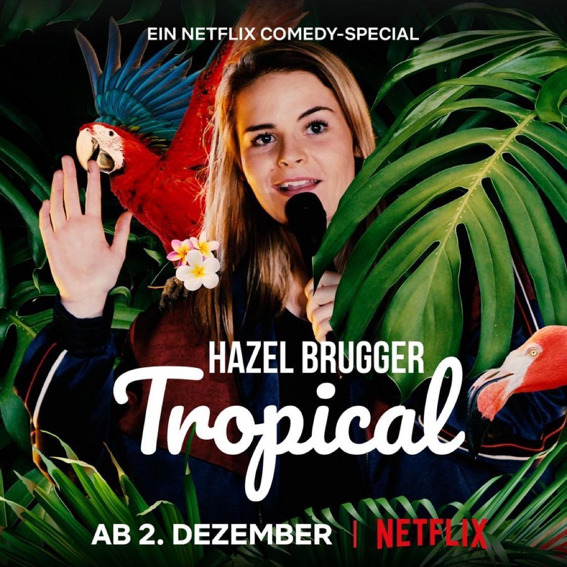 黑兹尔·布鲁格:爆笑热带海报